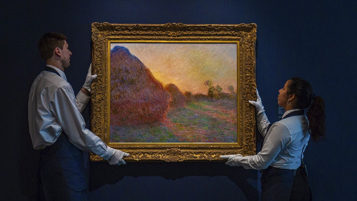 Iconic Monet haystacks painting smashes records, sells for staggering $110.7 million