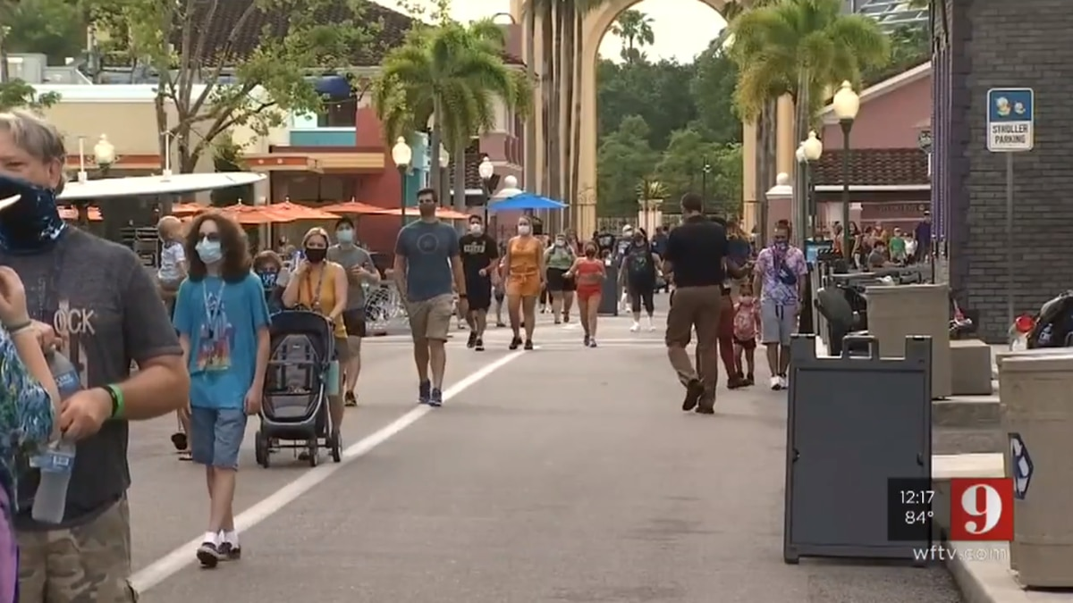 Universal Orlando reopens two theme parks, water park