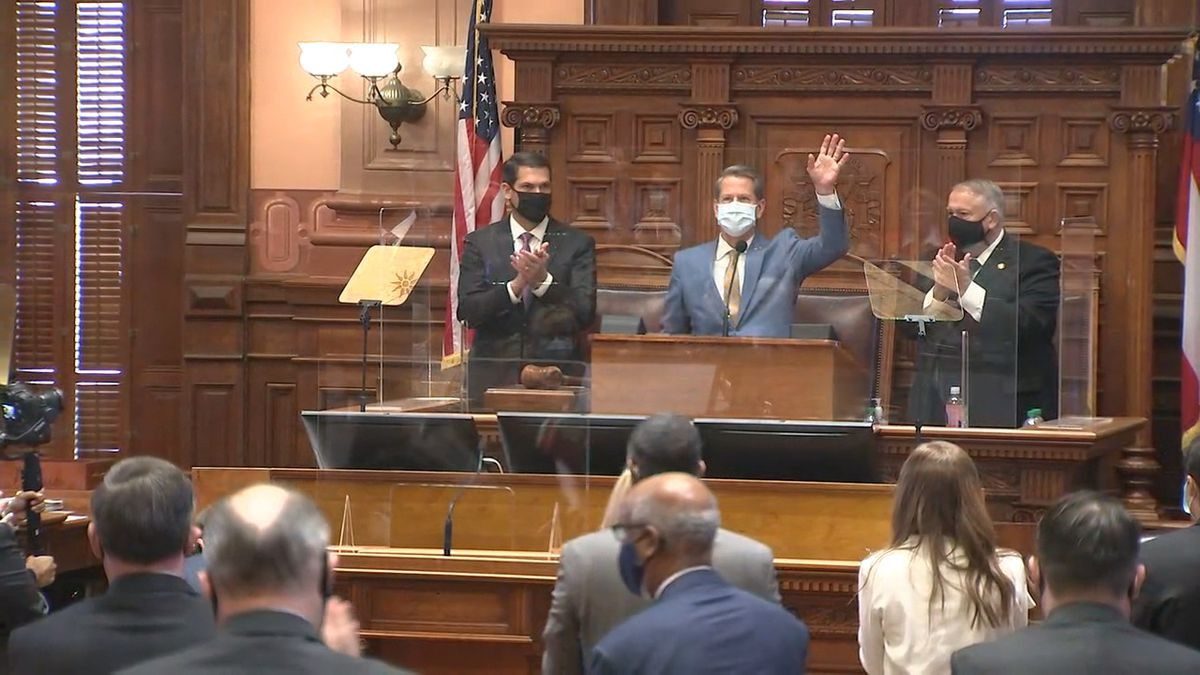 Read Gov. Brian Kemp's full State of the State address