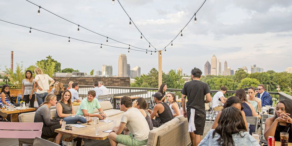 8 Atlanta-area rooftops to enjoy outdoor drinks and dining