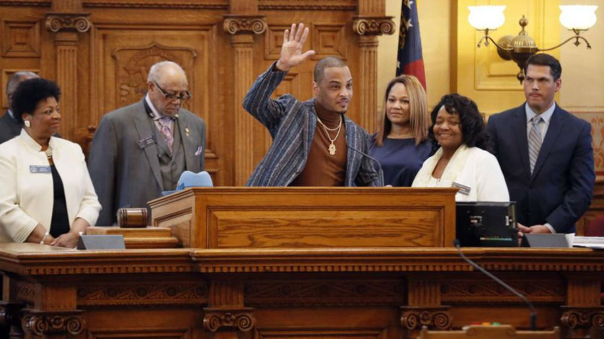 Rapper T.I. named to Atlanta's city jail task force