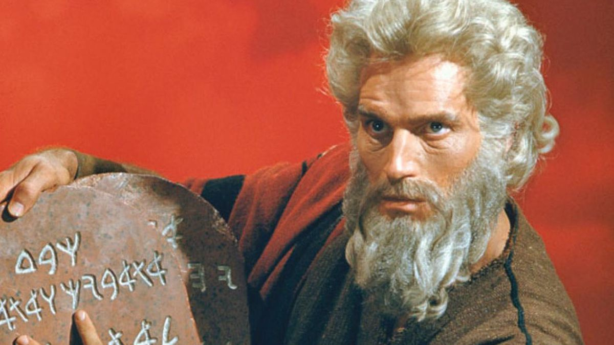 5 little known facts about 'The Ten Commandments'