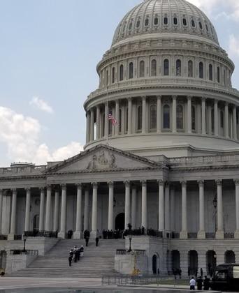 Minus Trump, Congress pays tribute to late Rep. John Lewis