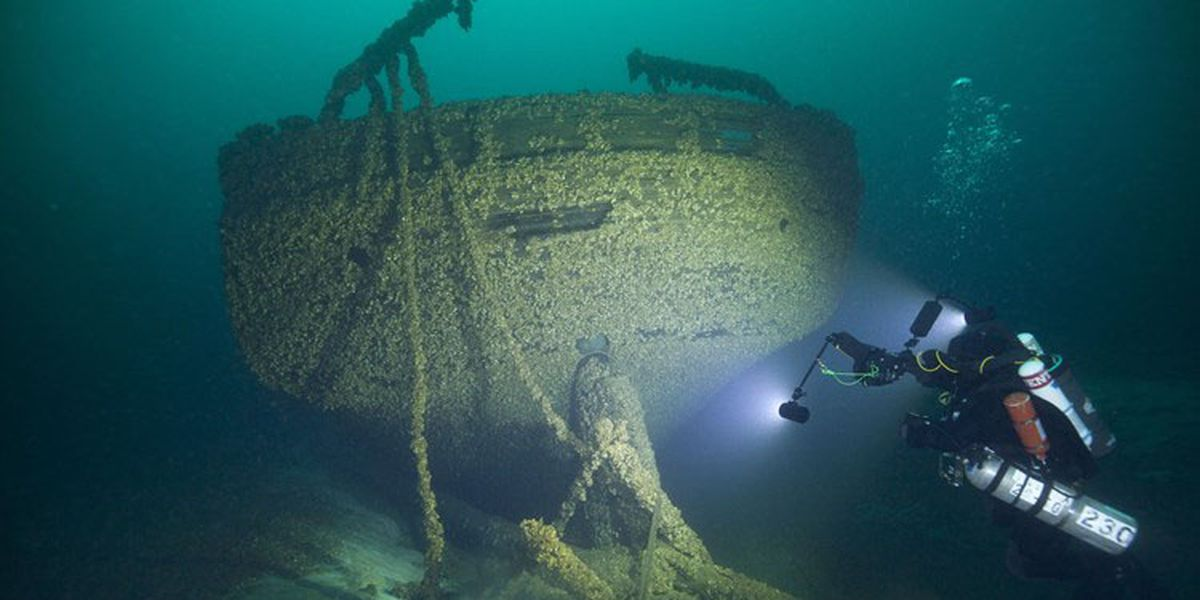 Civil War-era shipwrecks discovered in Lake Michigan after sinking in 1878 collision