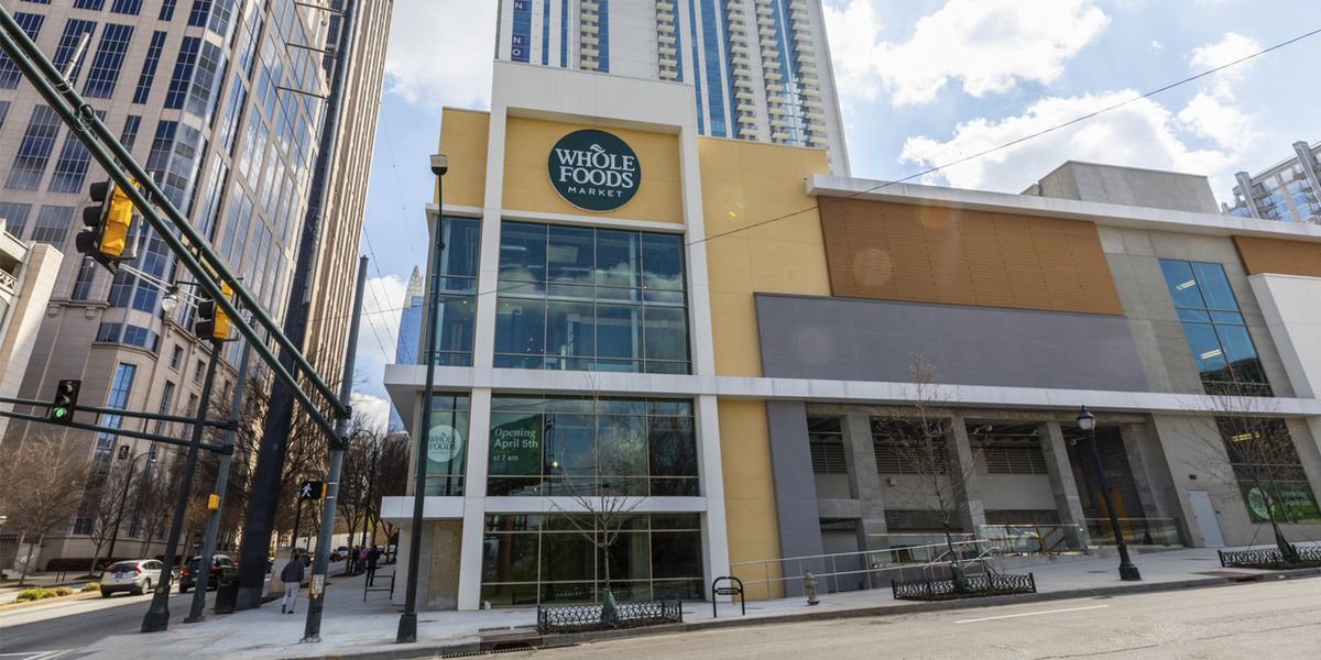 Whole Foods opened its largest store in Southeast today in Midtown