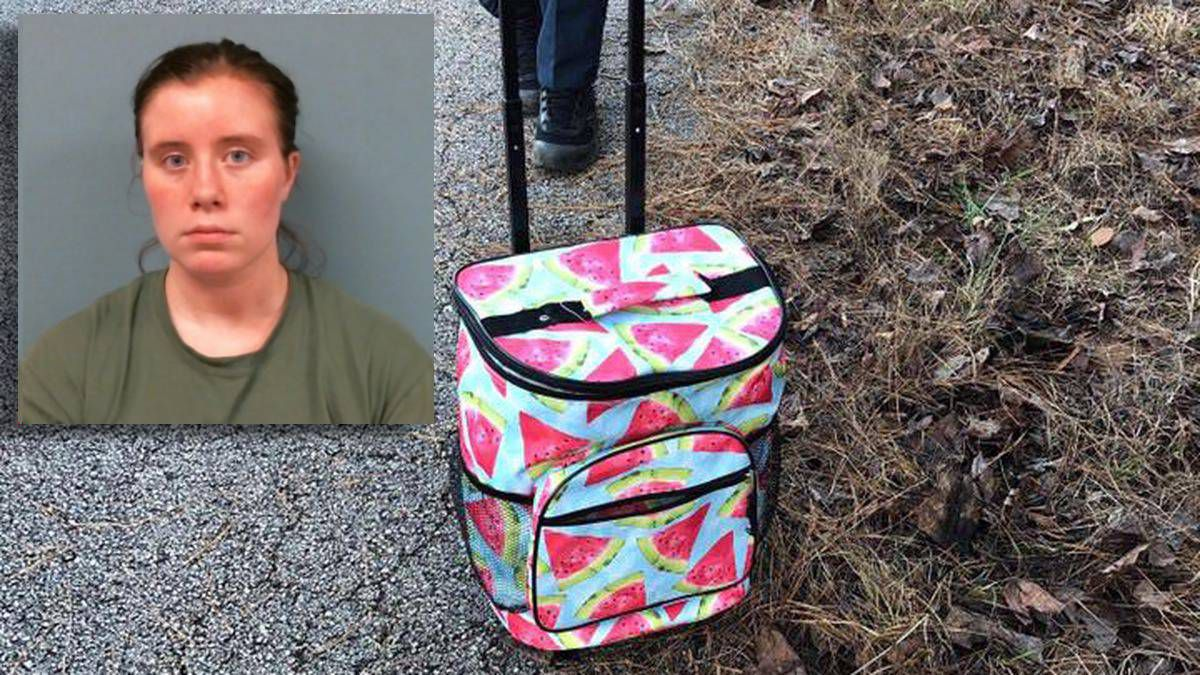 Teen arrested more than year after newborn's body found in cooler off Georgia road