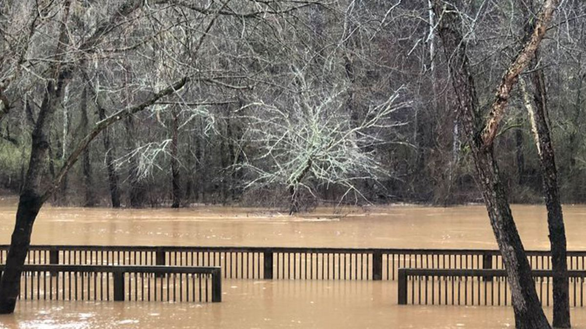 State of emergency declared for counties south of I-20 over flooding