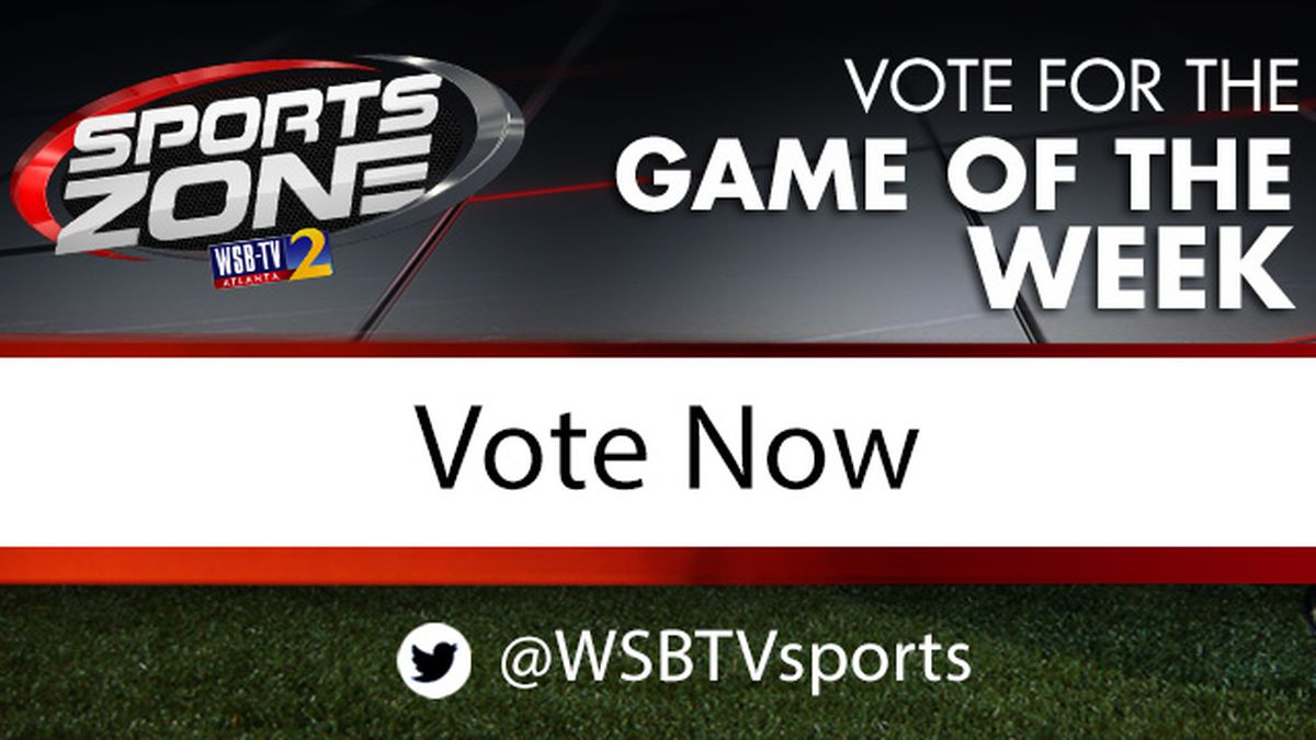 Which Game should WSB-TV cover as Game of the Week?