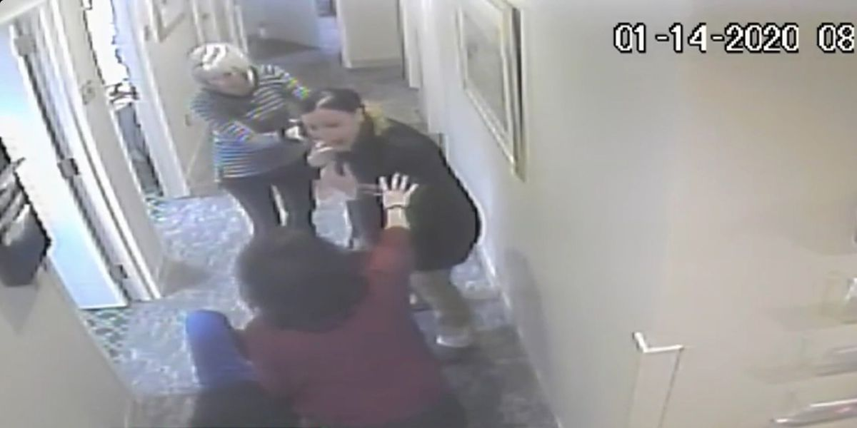 VIDEO: Woman is accused of stealing purse, assaulting employees at Massachusetts nursing home