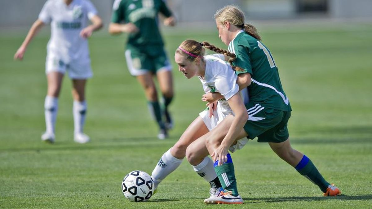 Concussion rate for teen female soccer players rivals football, study says