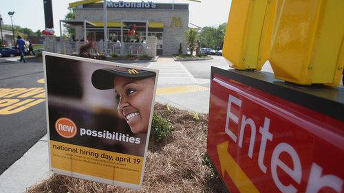 Metro Atlanta McDonald's looking to hire 1,500 workers Wednesday