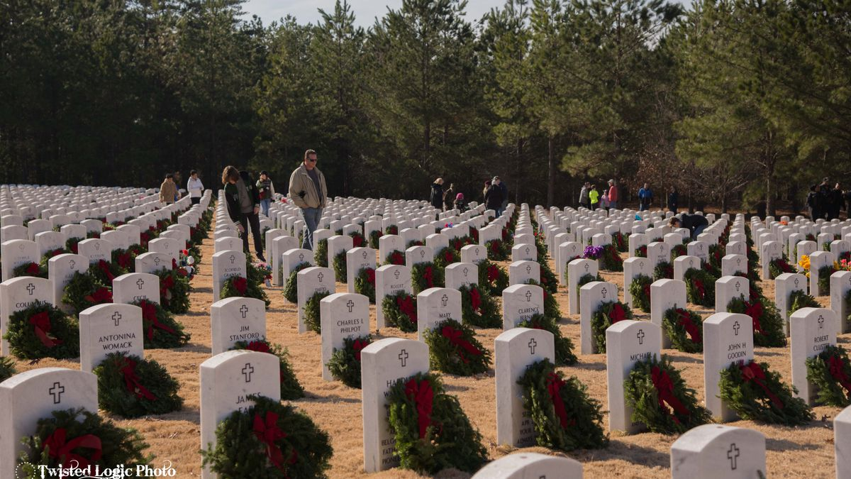 Wreaths needed to decorate the graves of Georgia veterans
