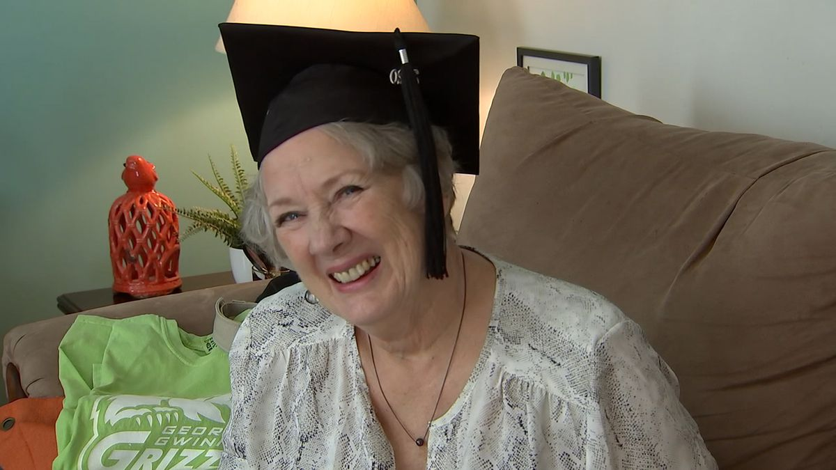 """""""Such a blessing for me:"""" Gwinnett County great-grandmother graduates from college"""