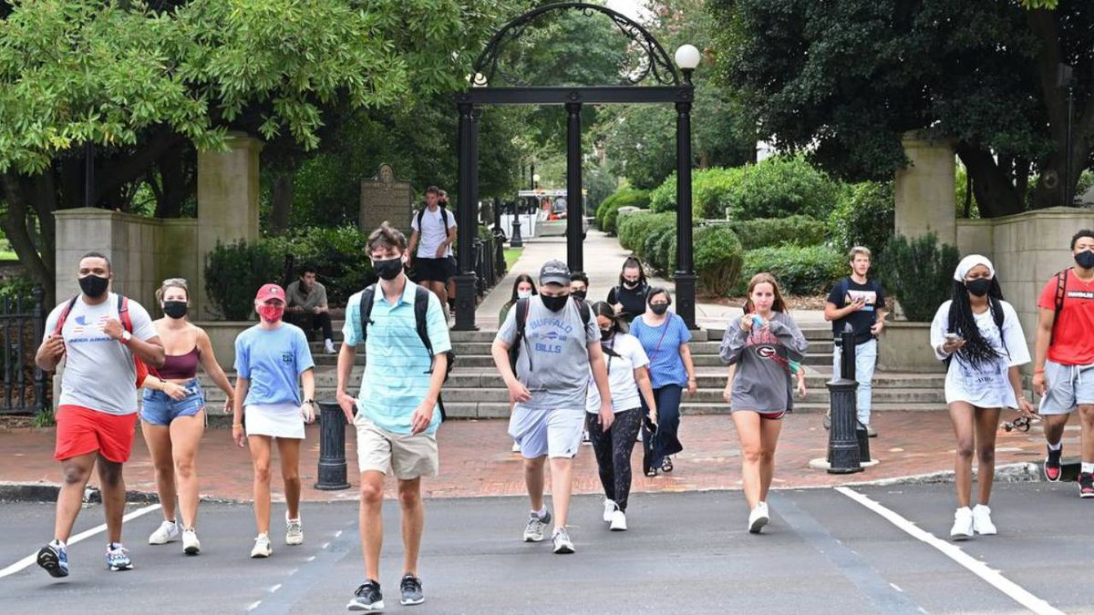 UGA reports over 1,400 new cases of COVID-19 on campus this week
