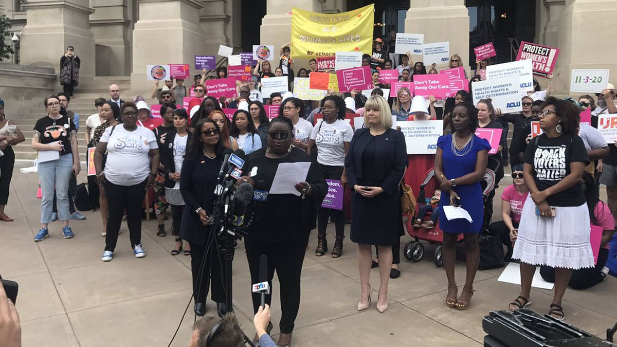 Demonstrators promise to challenge controversial 'Heartbeat Bill'