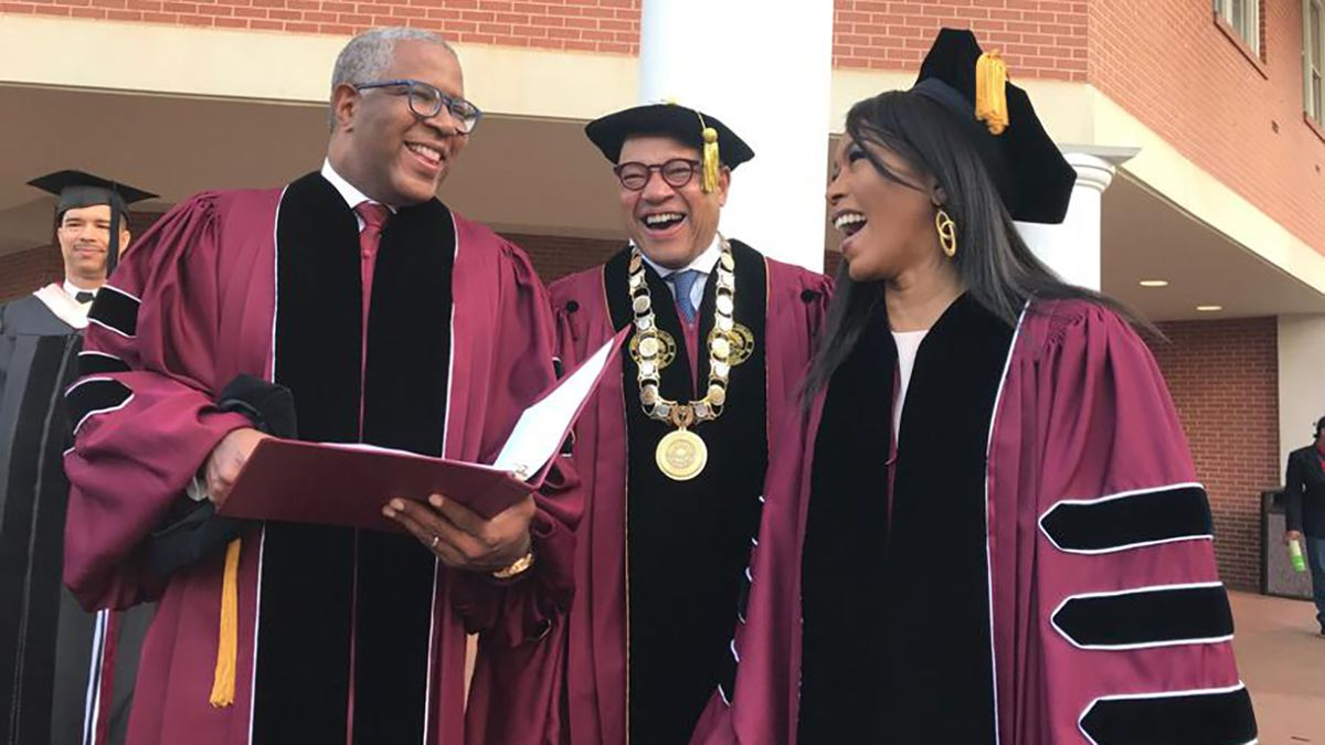 Billionaire who is paying off Morehouse class' student debt is at it again