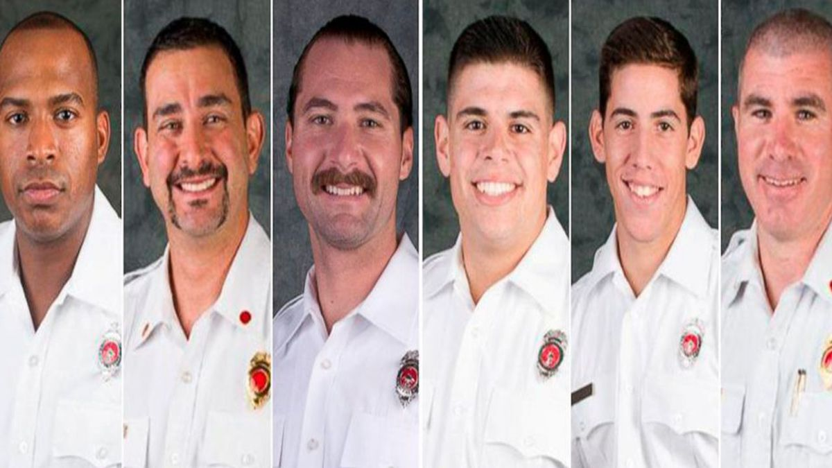 6 firefighters fired for allegedly placing noose over black colleague's family photo, officials say