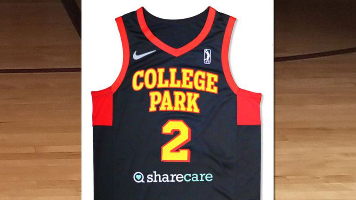 Hawks, Sharecare team-up again for College Park Skyhawks' new jerseys