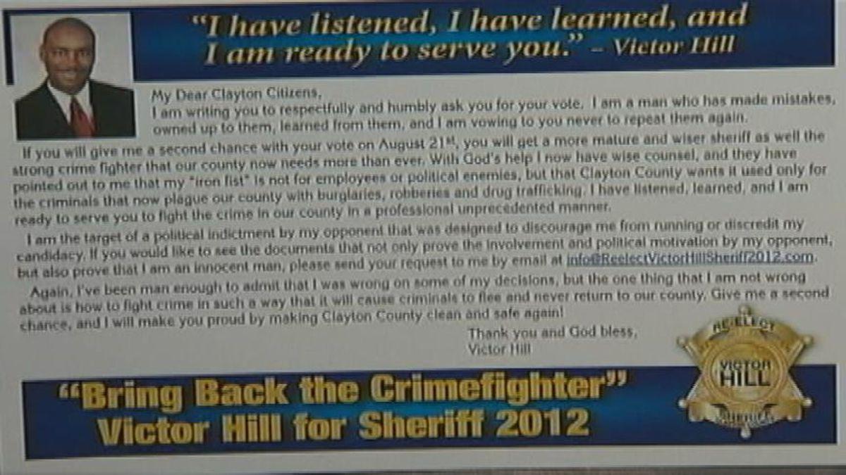 Clayton sheriff candidates hit the airwaves to debate