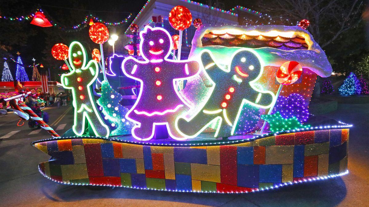 Best Theme Park Christmas Event