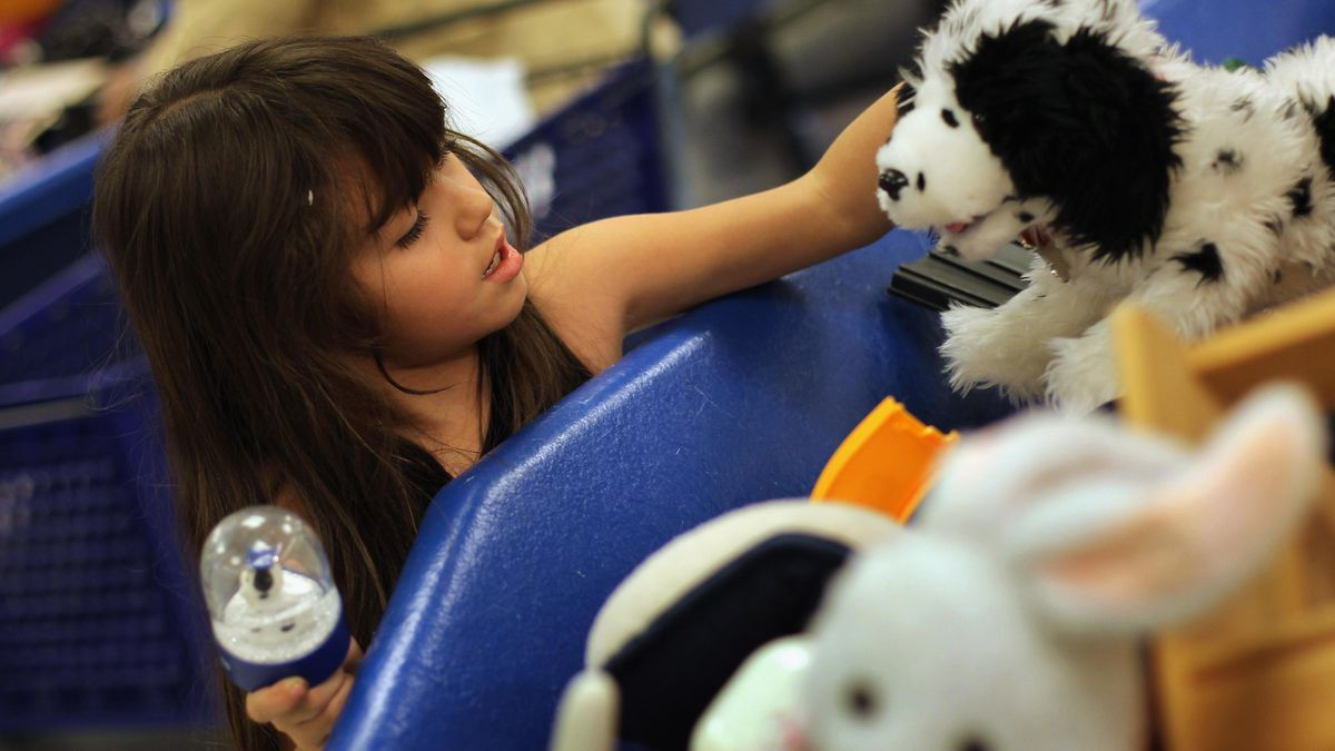 Anonymous donor buys every toy at Goodwill, gives them to kids
