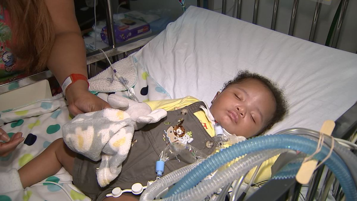 'As sick as you can possibly be': Doctors use 3D printer to save baby's life