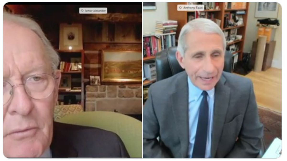 Fauci: US going in right direction, but virus spikes possible as states re-open