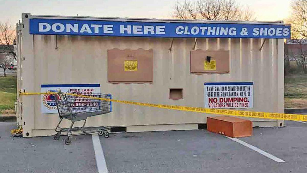 Man dies after getting trapped in donation bin outside Walmart