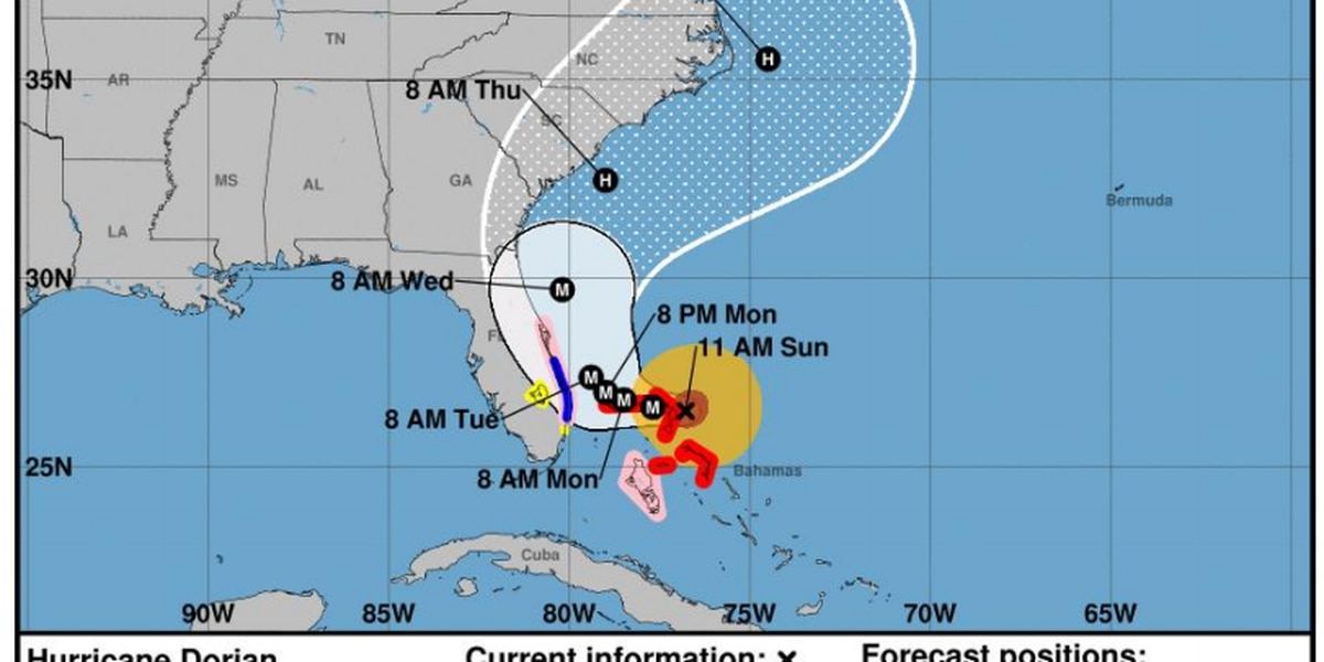Emails show forecasters not aware of Trump tweet on Hurricane Dorian