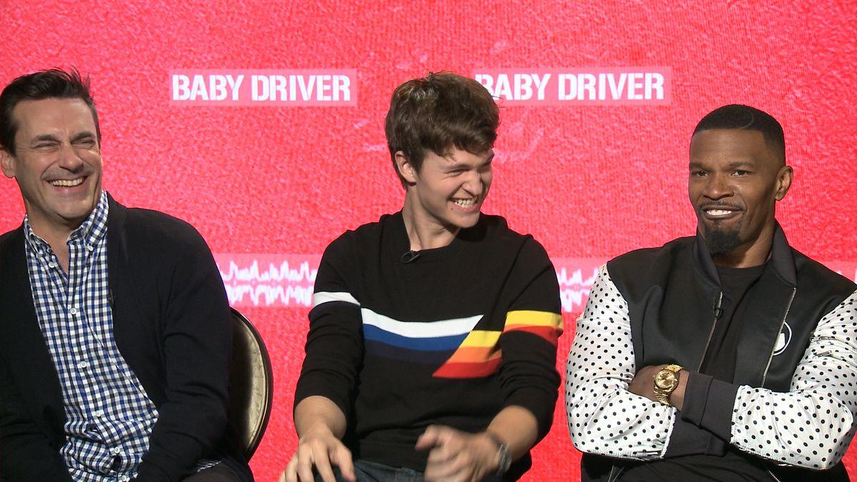 Jon Hamm, Jamie Foxx, Edgar Wright couldn't get enough of Atlanta while shooting 'Baby Driver'