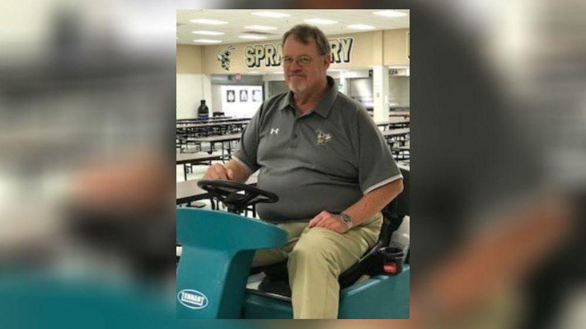 Cobb custodian celebrates 40 years with school district