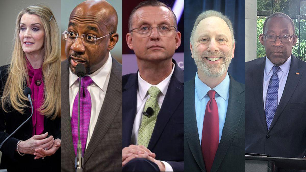 Meet candidates for Georgia's U.S. Senate Seat: Loeffler, Collins, Warnock, Liebermann and Tarver