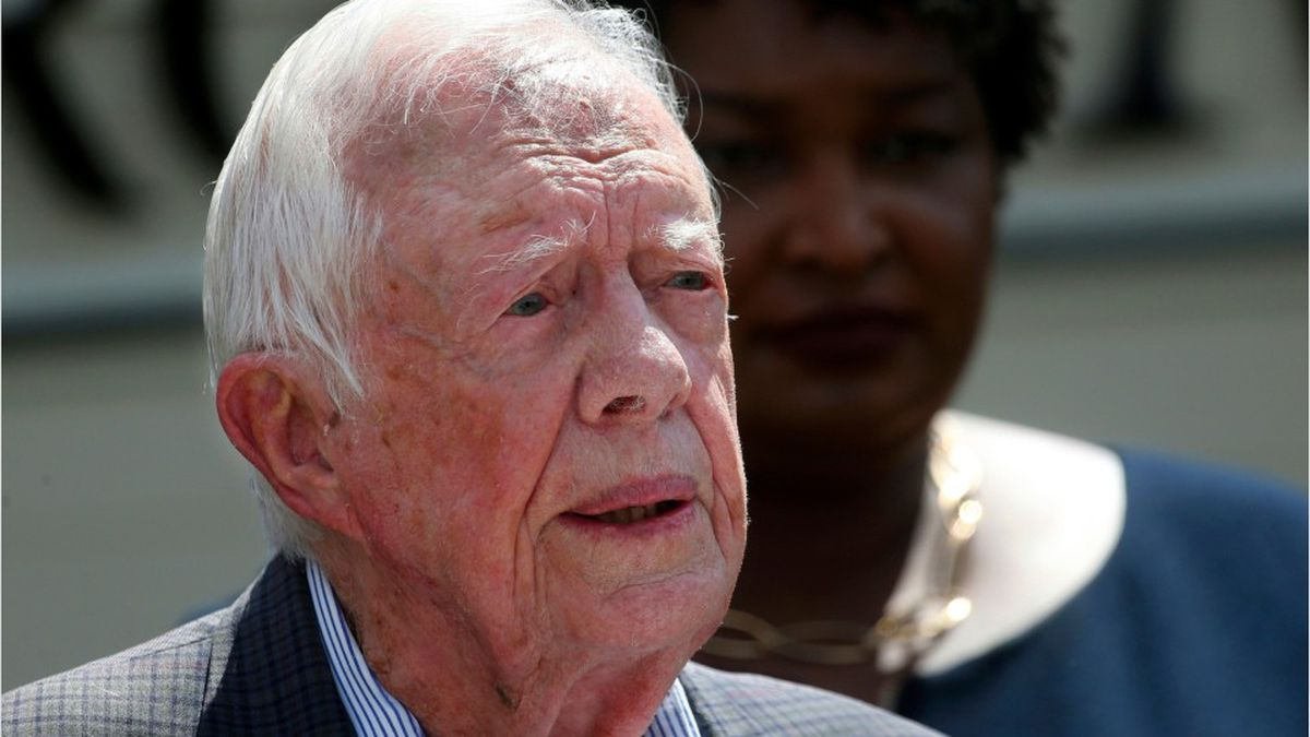 Jimmy Carter discharged from hospital after infection