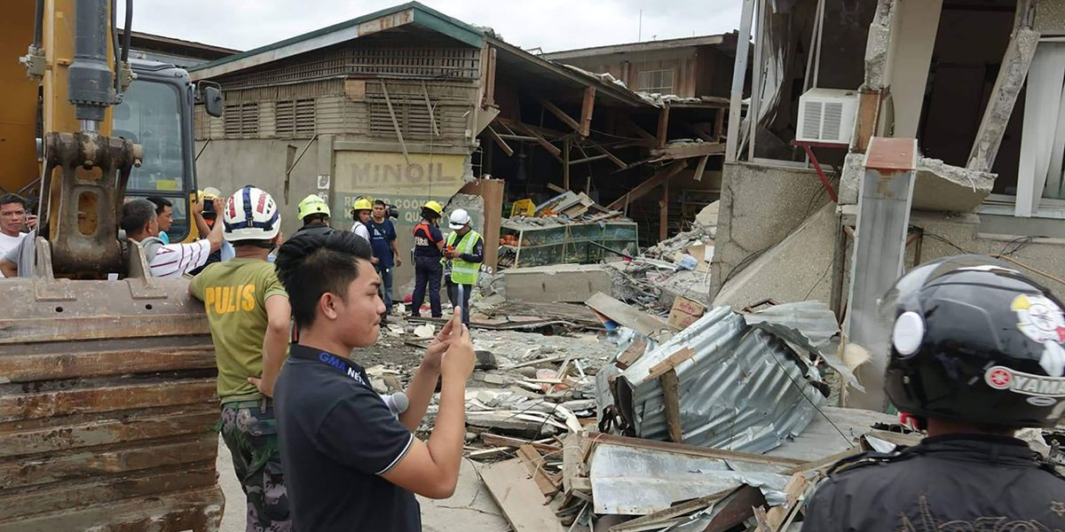 Philippines earthquake: 1 dead, several hurt in 6.8-magnitude temblor, officials say