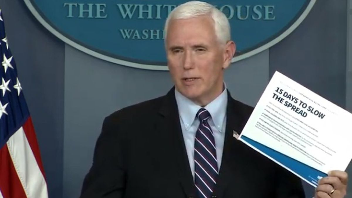 Pence confirms Coronavirus task force may end work