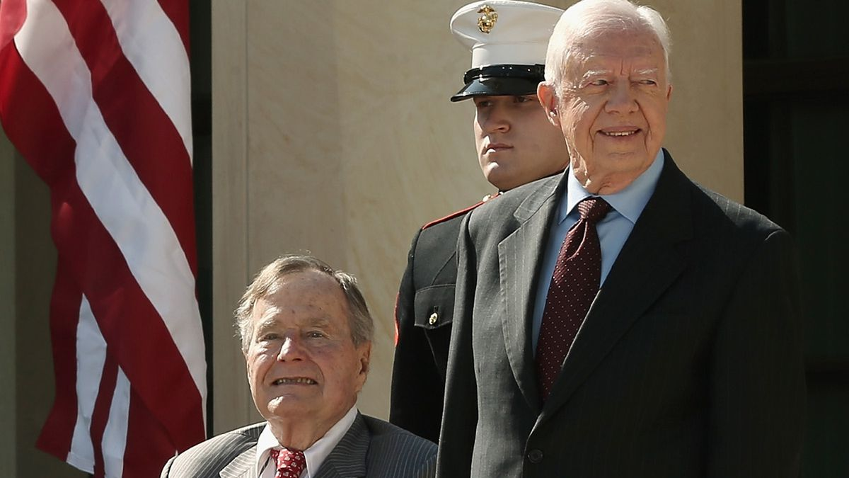 Jimmy Carter, Georgia politicians reflect on George H.W. Bush's legacy