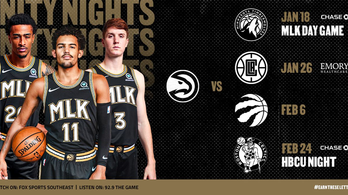 Atlanta Hawks announce slate of unity theme nights for 2020-21 season