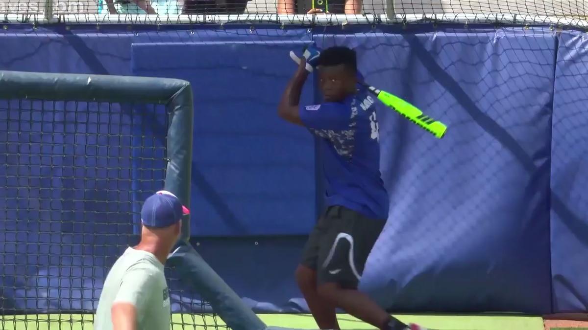 VIDEO: Peachtree City Little Leaguer crushes home run at SunTrust Park