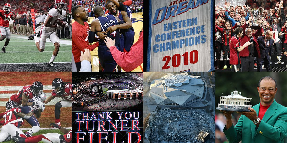 Champions, collapses and goodbyes: Moments that defined Georgia sports in 2010s