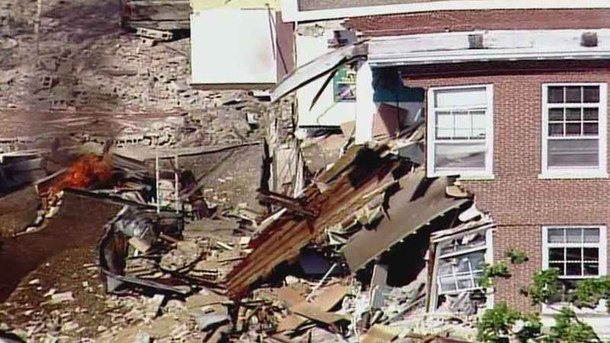 Explosion rocks Minneapolis school, causes partial collapse