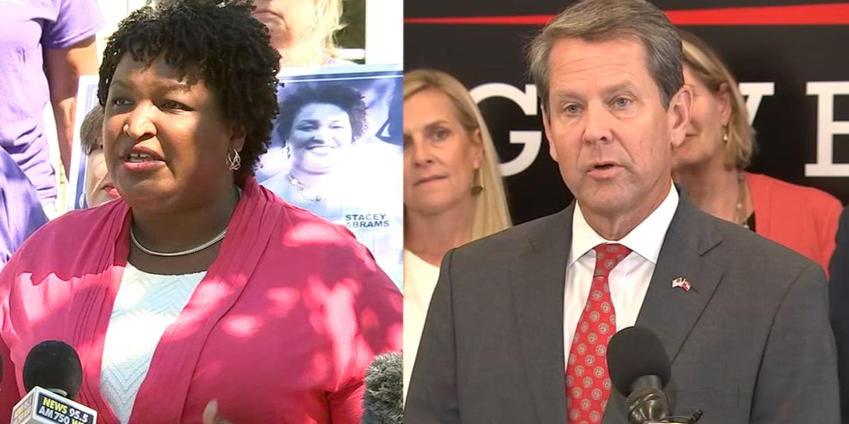 Pres. Trump: Kemp would be 'great governor,' calls Abrams 'totally unqualified'