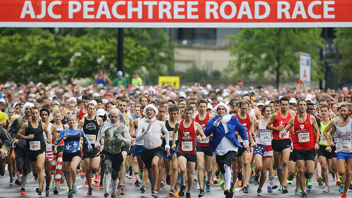 AJC Peachtree Road Race to return to in-person racing, as well as virtual