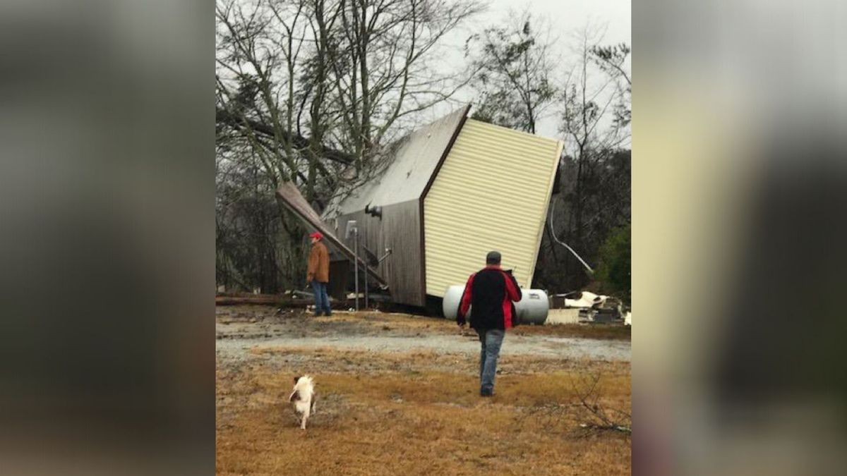 NWS confirms 3 tornadoes touched down in Georgia on New Year's Day