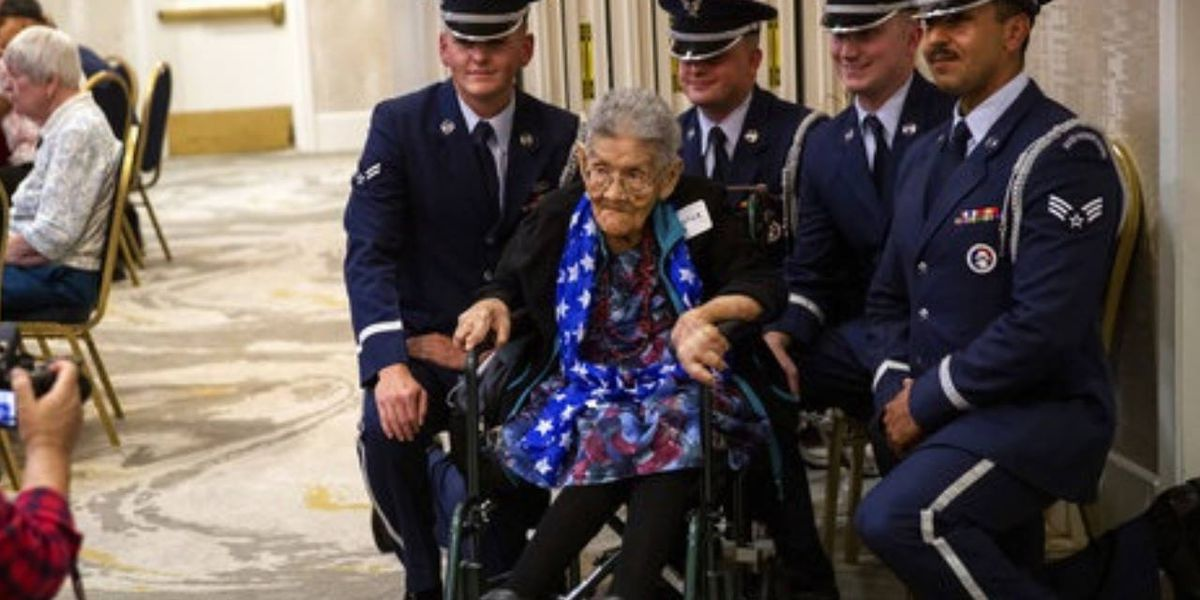 World War II female Navajo veteran Sophie Yazzie dead at 105