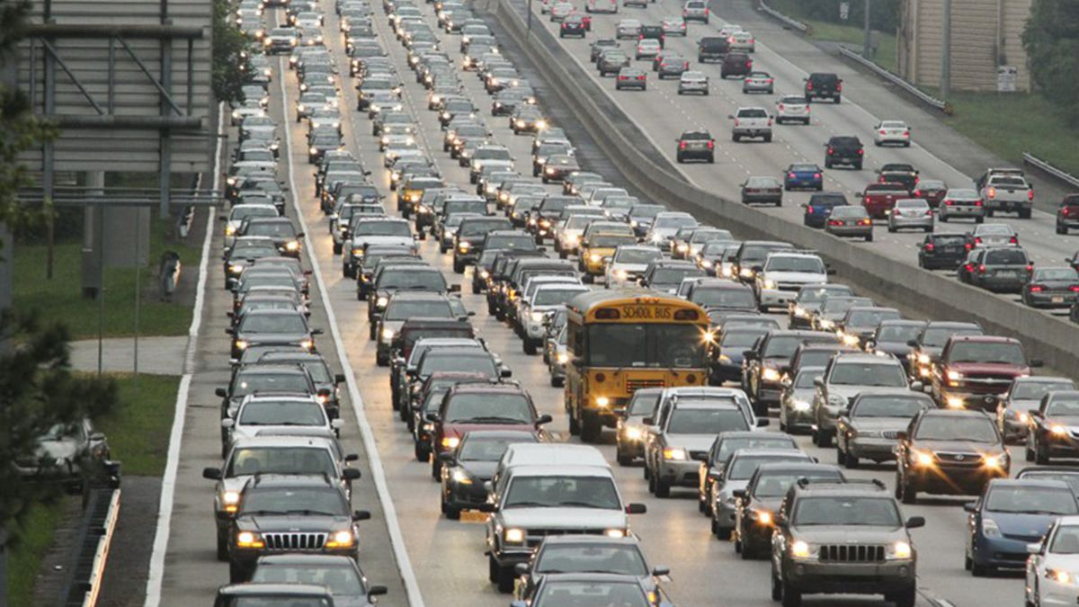 Thanksgiving traffic: Here's when (and when not) to travel in Atlanta