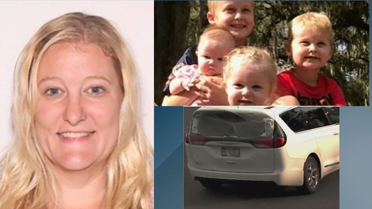 Missing Florida mother, 4 kids found dead in Georgia
