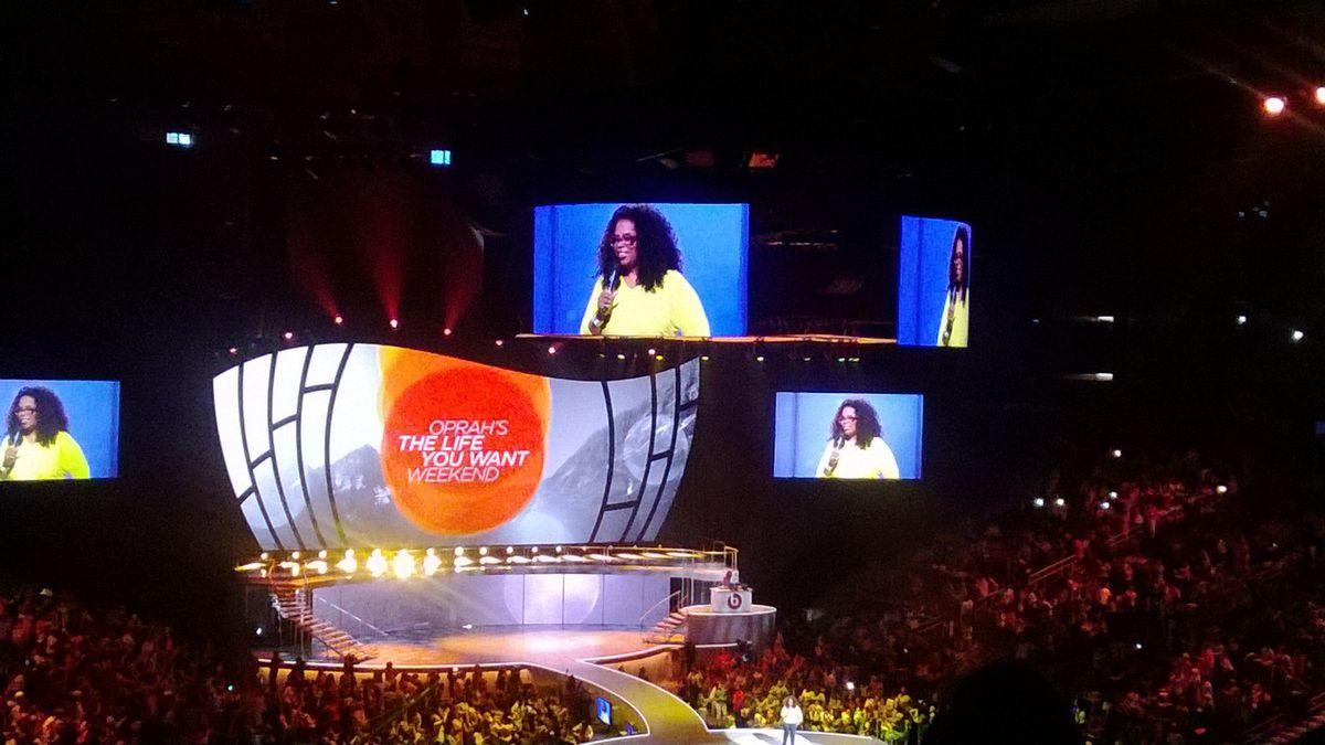 Oprah kicks off 'The Life You Want Weekend' tour in Atlanta