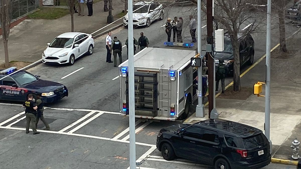 Armed man arrested following SWAT standoff outside Atlanta Police headquarters
