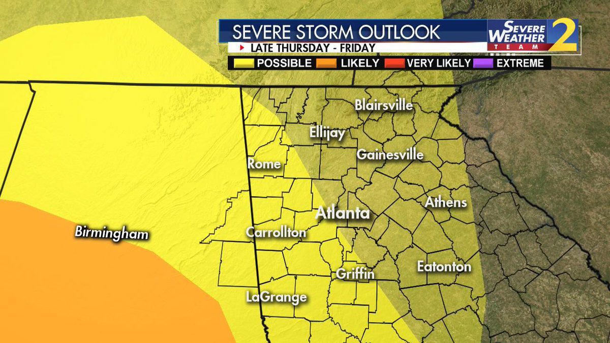 Tornado watch issued for parts of south metro until 9 a.m.