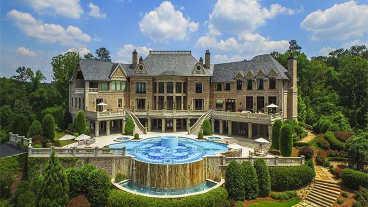 Tyler Perry's former Georgia mansion still up for sale year later - now for $21M